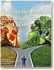 Current Research in Nutrition and Food Science